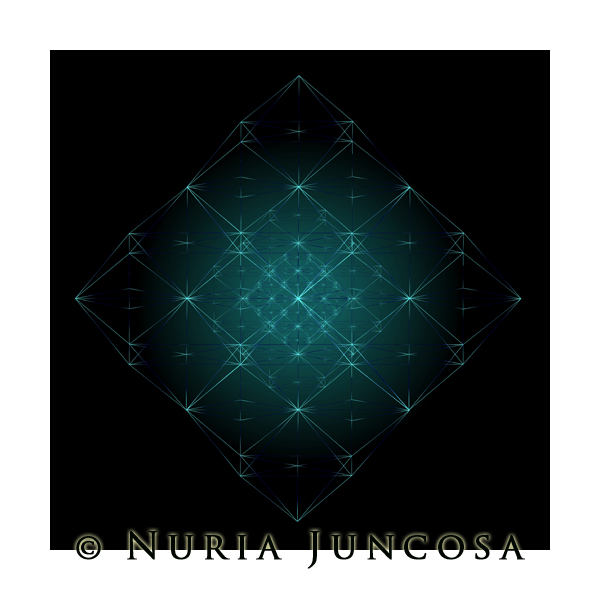 BLUE DIAMONDS   by Nuria Juncosa